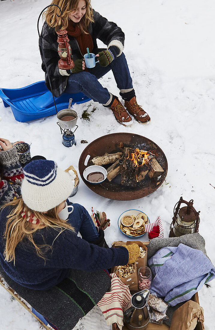 Lets go Picnic on the Sled