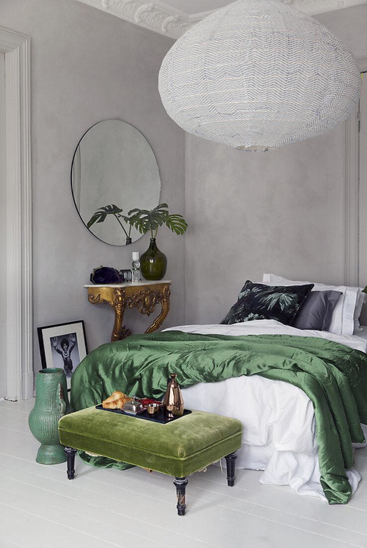 Bedroom in Delicate Bohemian Style
