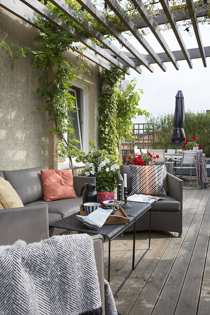 Summer Terrace with a View