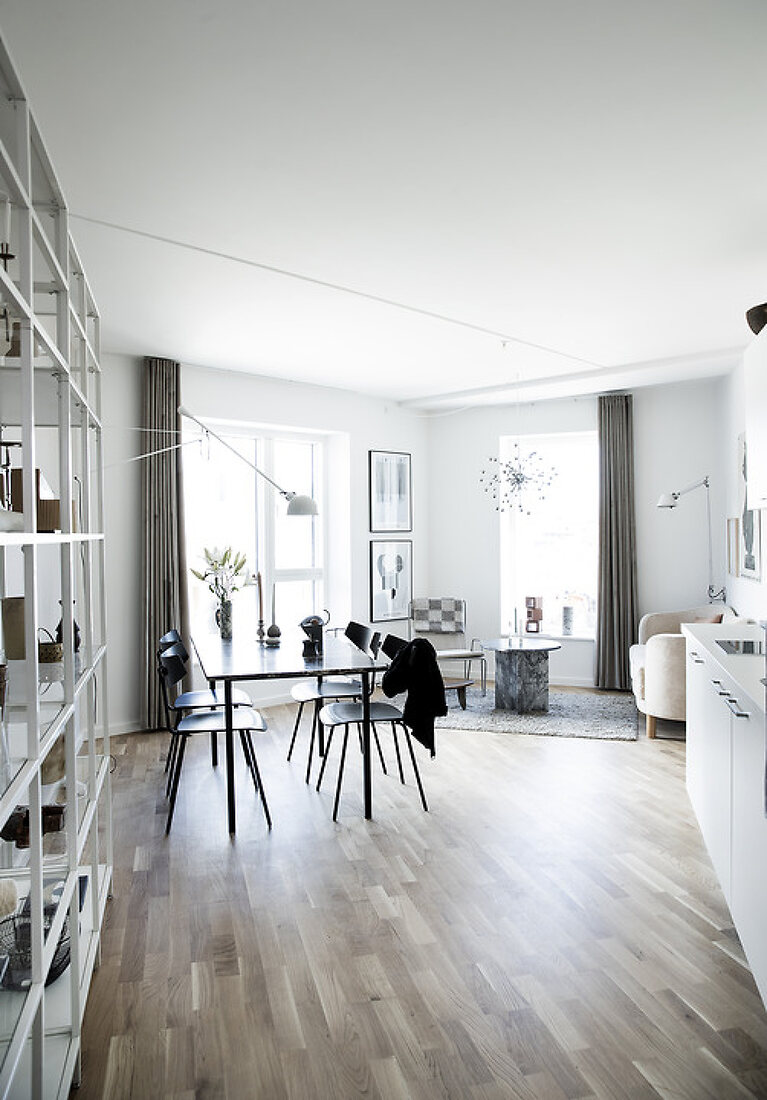 Stylish 59 m2 Student Home on a Budget