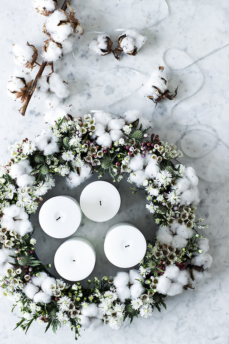 Advent Wreaths in 6 Styles