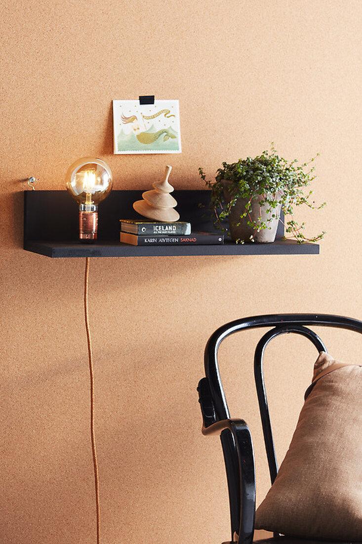 DIY Floating Shelf with Light
