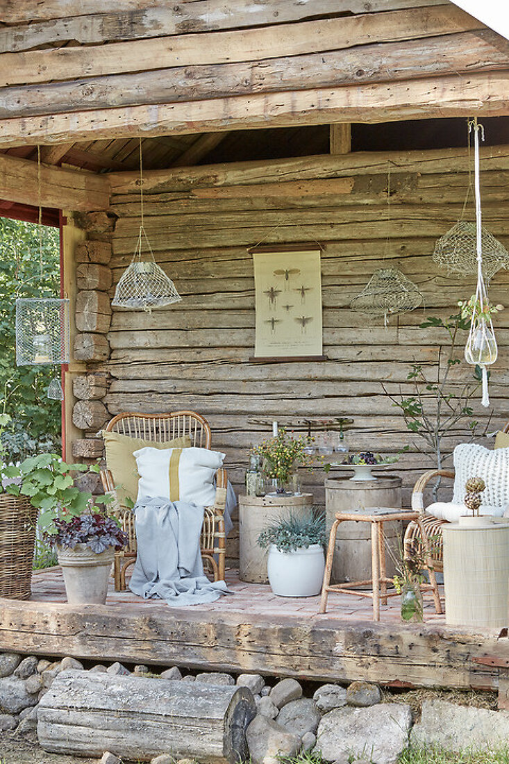 The Old Country Porch
