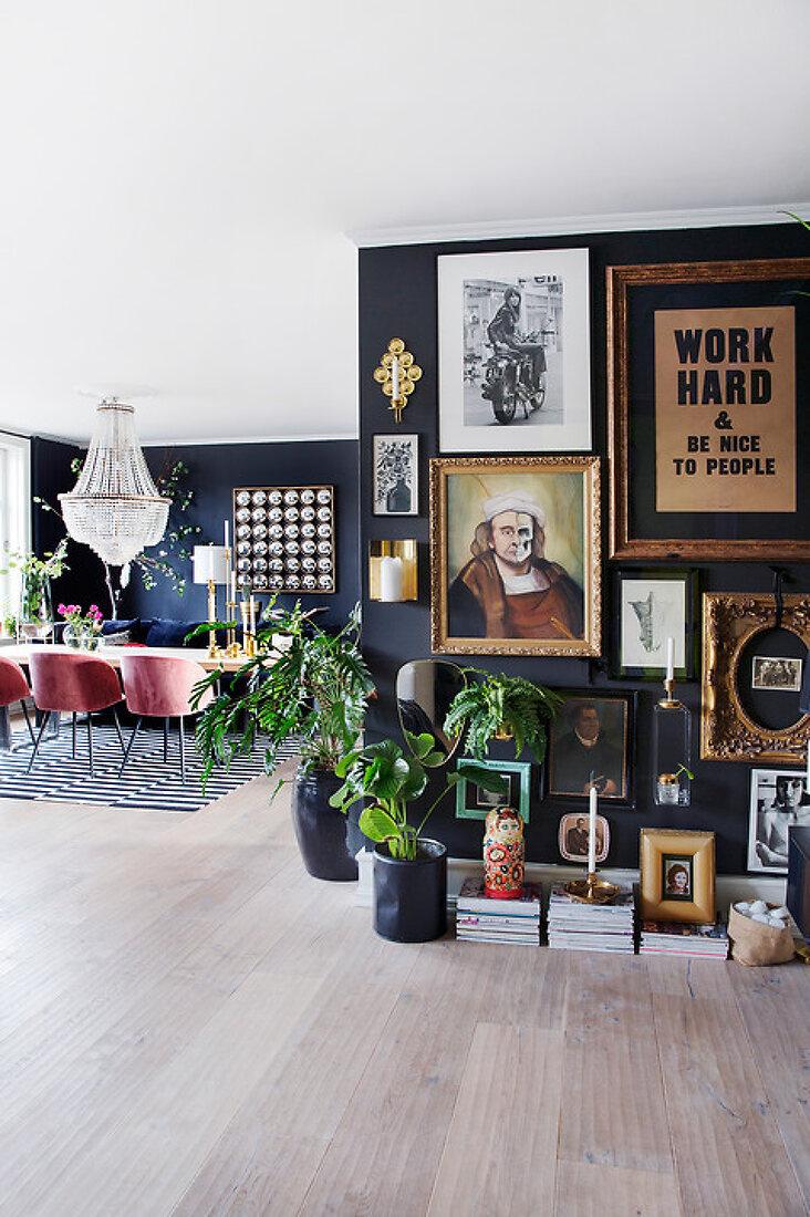 Art Nouveau apartment in Trondheim