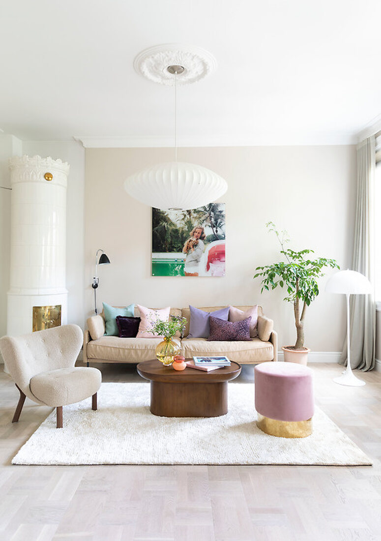 Pillows and Pastels