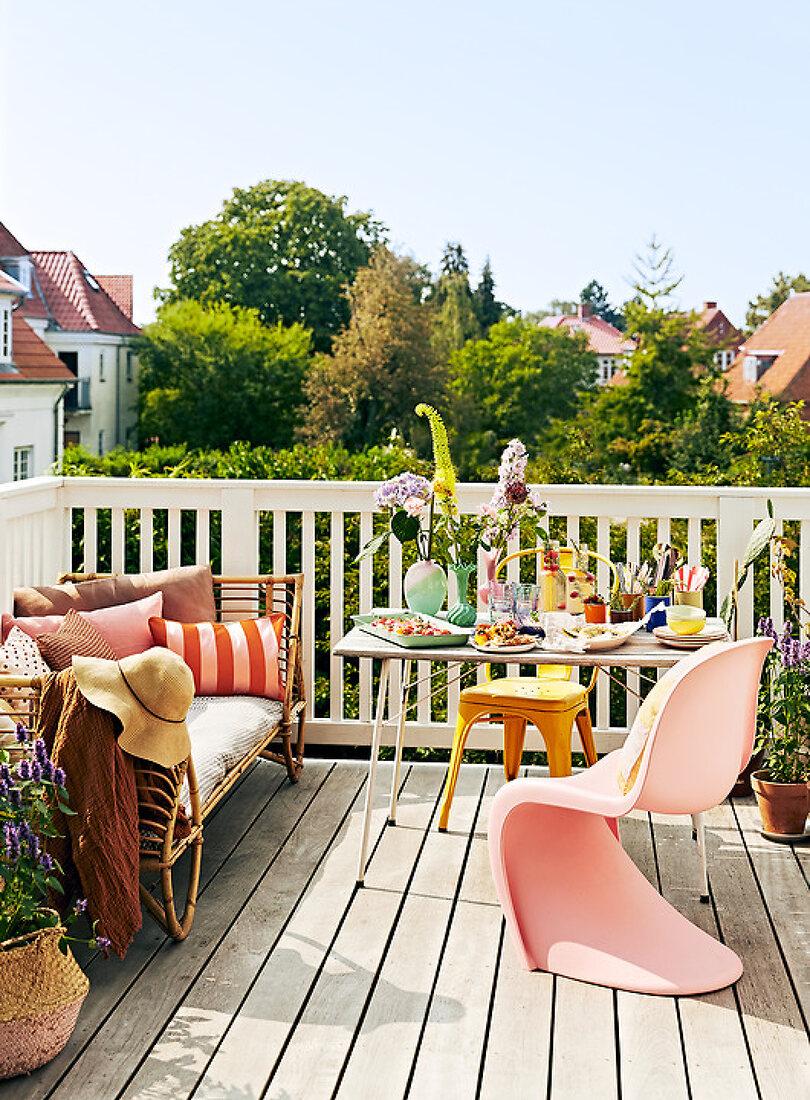 Summer terrace invitation