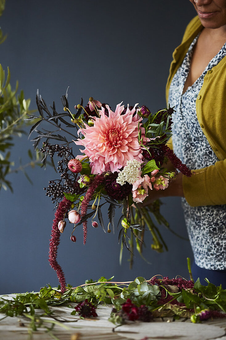 The art of making bouquets