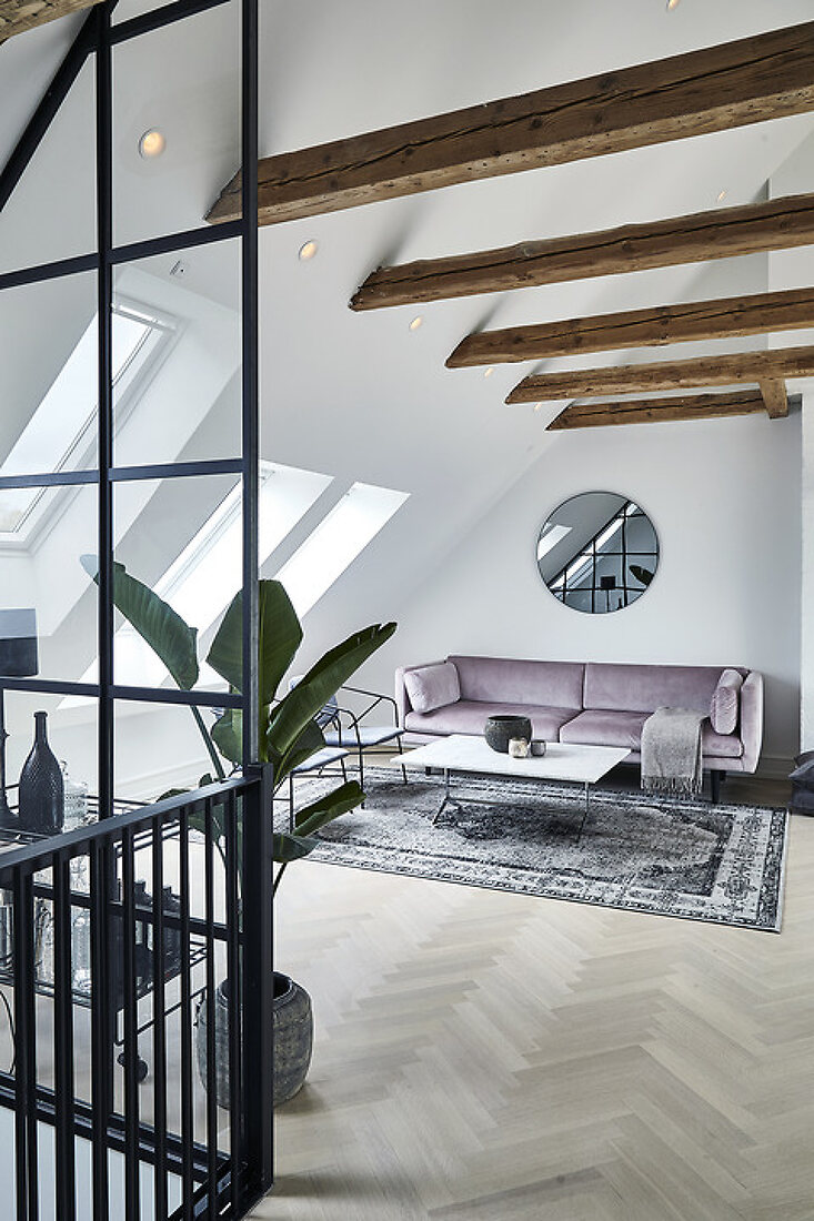 Going big - attic expands the apartment