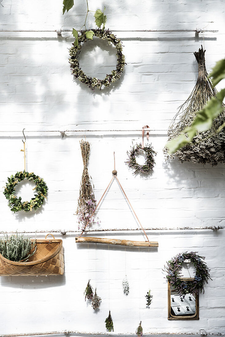 Dried plants deco ideas