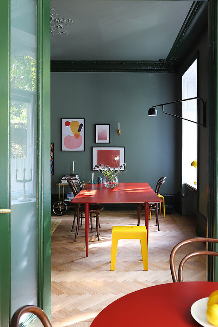 A Colorful Home in the Heart of Sweden