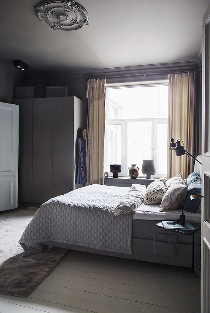 Stylish Bedroom & Bathroom Connection