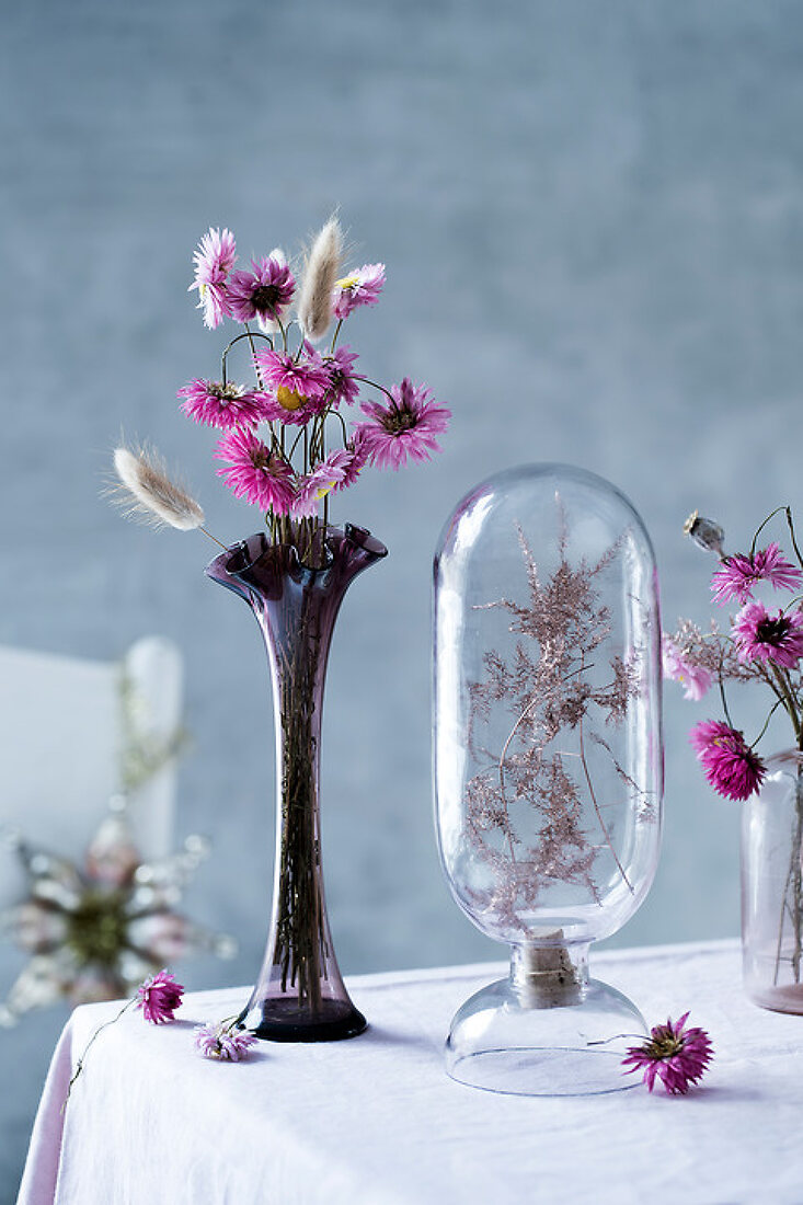 Dried Flowers for Christmas