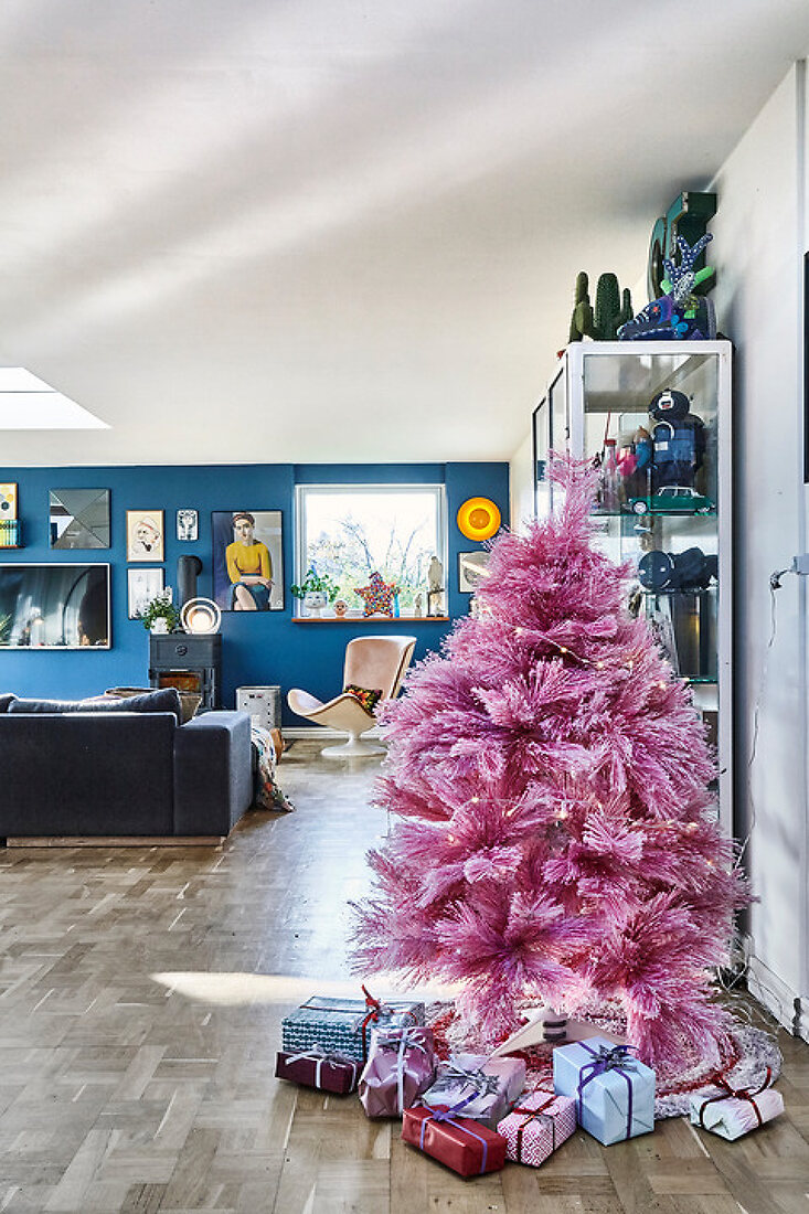 Colorful and Creative Christmas at Christina