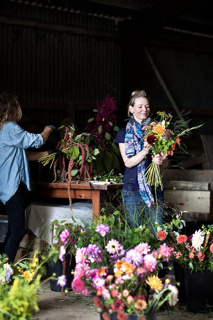 Organic Flower Boom at Vilde Violer
