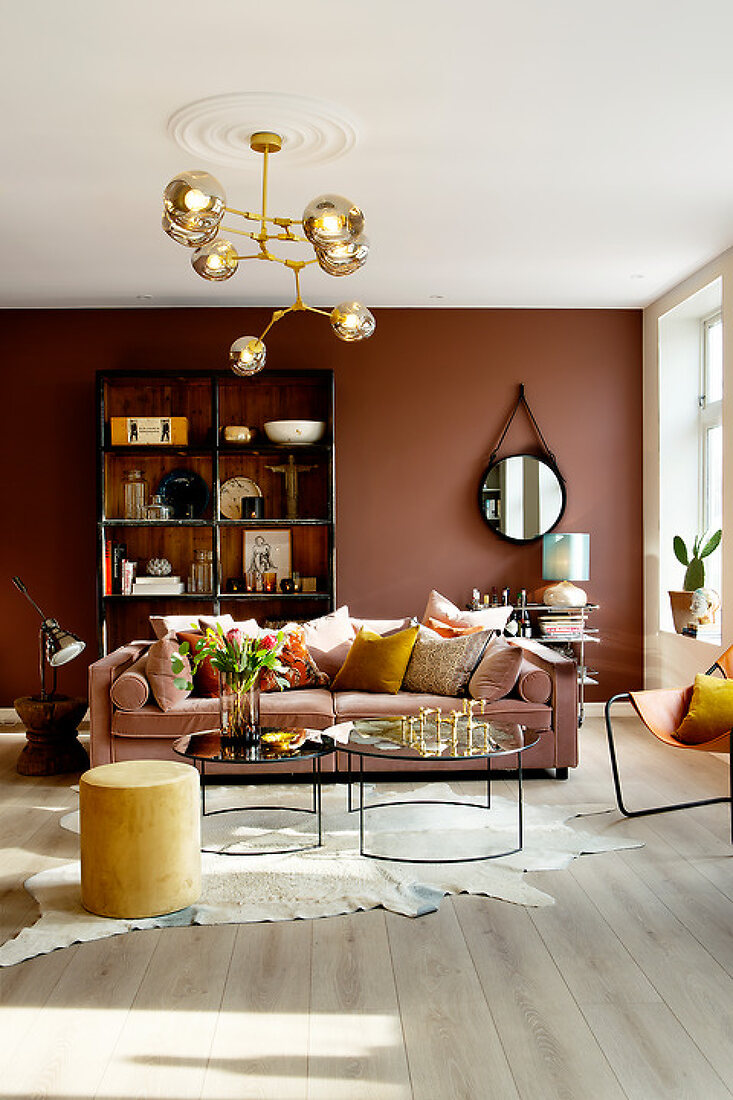 Warm Colour with a Rosa Twist