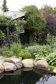 The luscious little garden