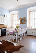 Grand Country Kitchen in Pastels