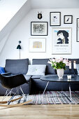 Art & Atmosphere in the Attic Apartment