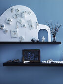 Polar Blue Christmas Deco