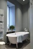 Sculptural Bathroom