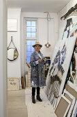 Artist Mie Olise in her Copenhagen Atelier