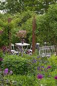 Adventurous Garden in May