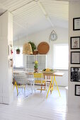 Vintage with Yellow Accents