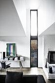 Contemporary Design in Dark Tones