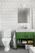Green Accent Bathroom