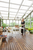 Conservatory as a Green Oasis