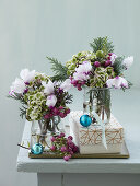 9 Bouquets and Decorations for Christmas