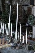 White & Rustic Christmas DIY