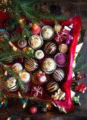Homemade Christmas Pralines