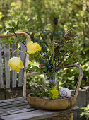 Rustic Spring Bouquets