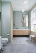 Cool & Nordic Bathroom