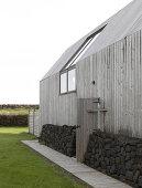 Icelandic Barn House