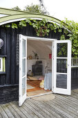Alternative Summerhouse-Hangar en miniature
