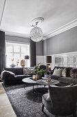 Monochromatic Mansion