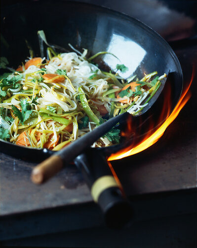Asian Stir-fried Noodles