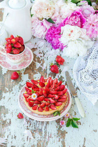 Whimsical & Wild Strawberries