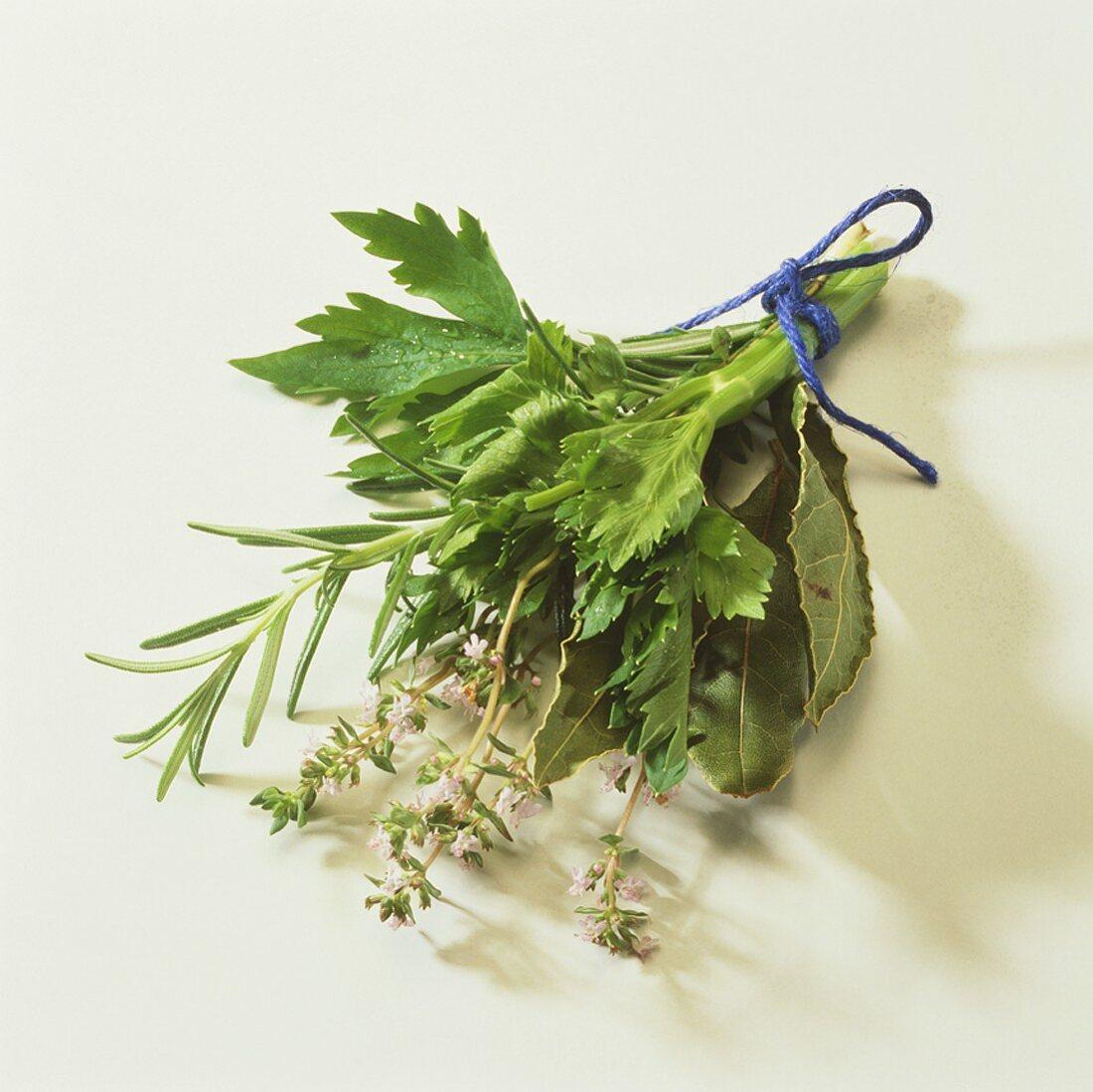 Bunch of herbs (Bouquet garni)