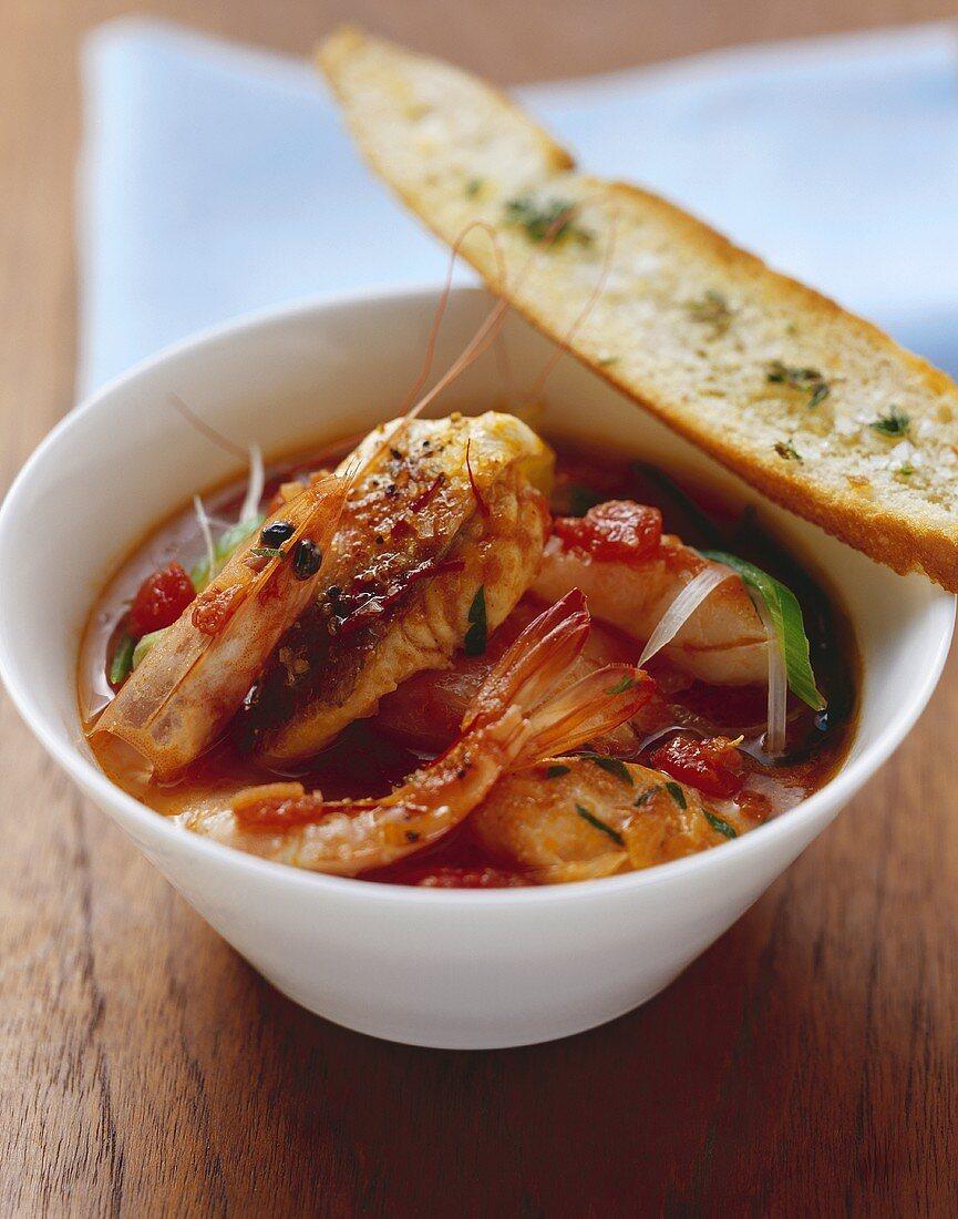 Provencal-style fish soup