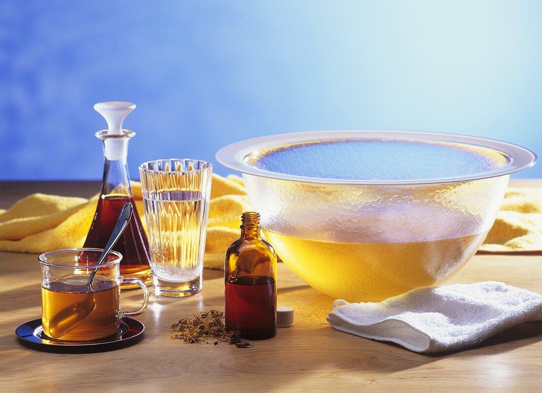 St. John's wort: tea, oil, tincture and St. John's wort water
