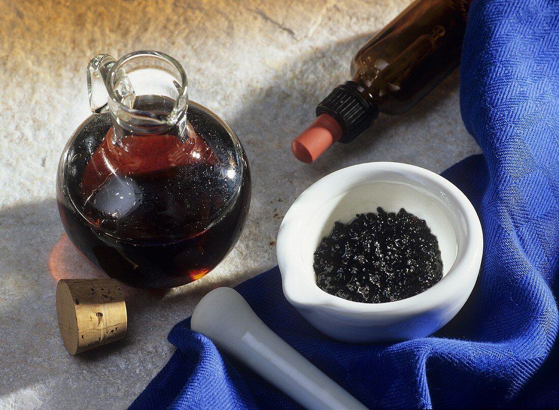 Nasal oil based on black cumin seeds