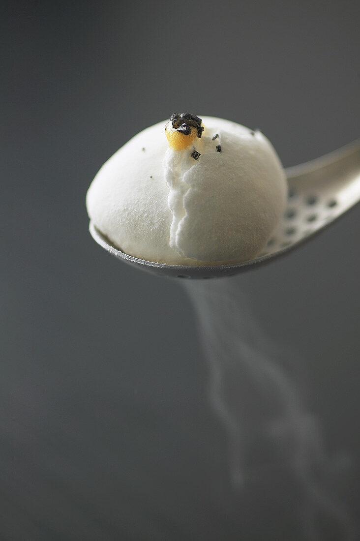 Molecular cuisine: coconut cloud