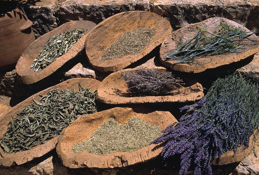 Assortment of Provencal Herbs