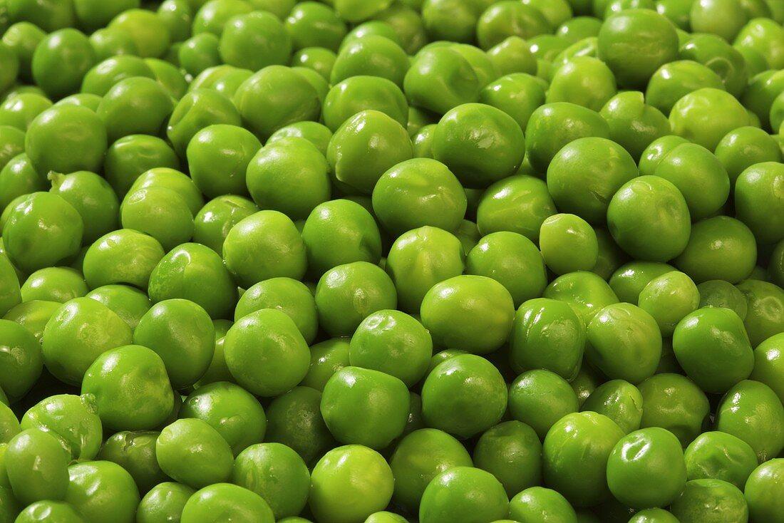Peas (macro zoom)