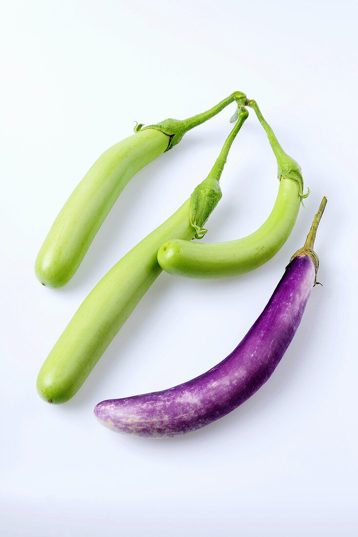 Aubergine (cultivars: Thai Long Green and Fengyuan)