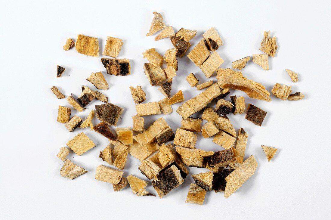 Silk tree bark
