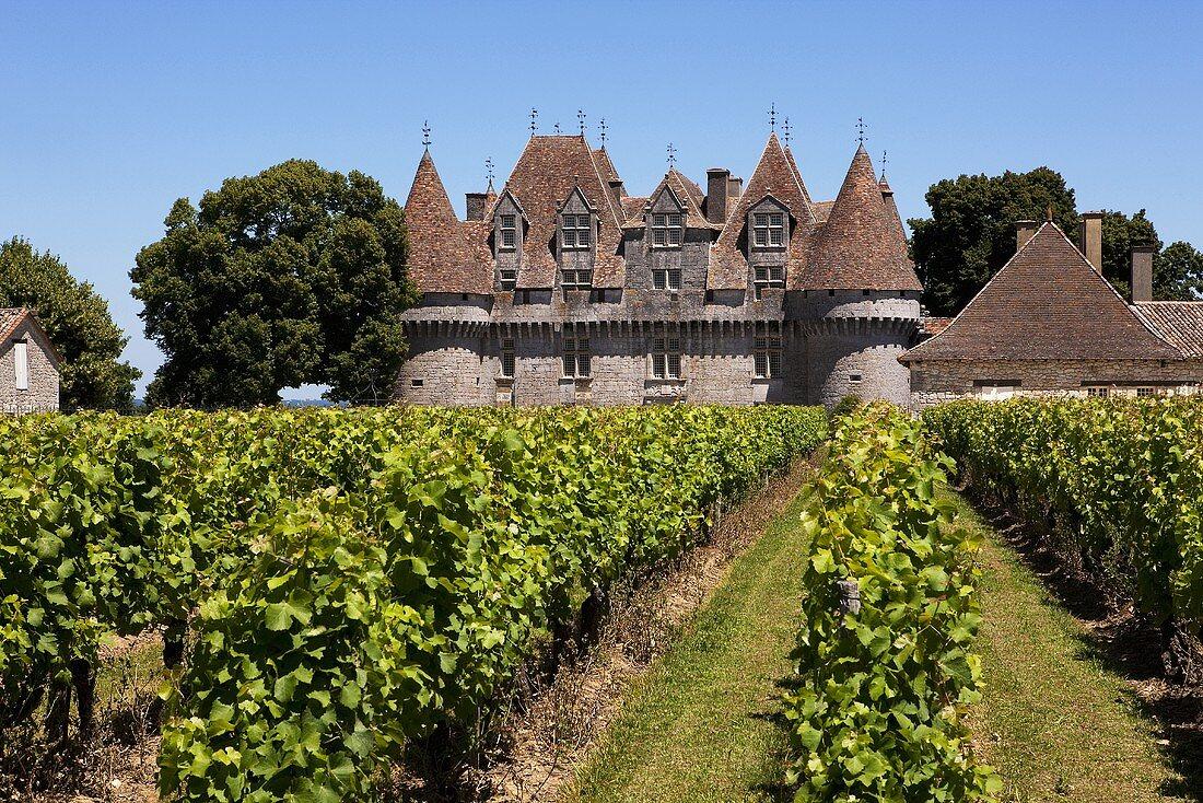 Chateau Monbazillac, Dordogne, France